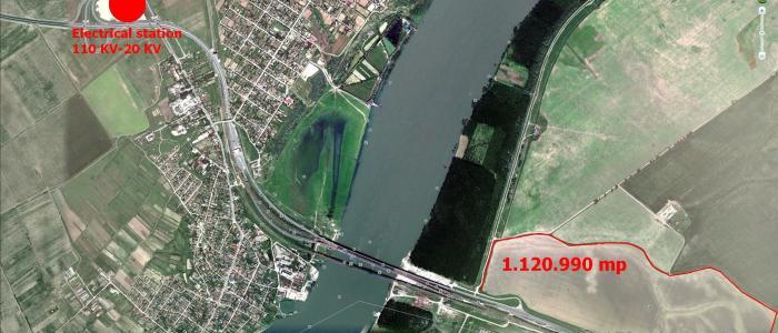 De vanzare teren parc logistic sau industrial in Ialomita